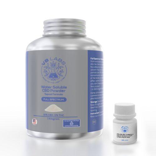 Full Spectrum CBD Water Soluble Powder Topical Formula