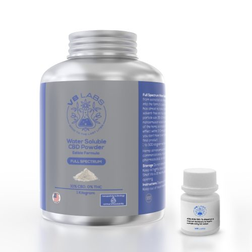 Full Spectrum CBD  Water Soluble Powder  Edible Formula