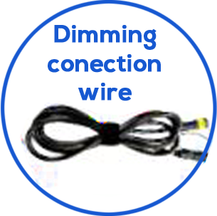 Dimming Connection wire